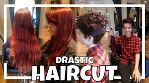 first girl haircut transgender ftm transgender haircut youtube