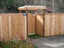 Backyard Fencing Ideas by Wood Fence Door Design 1000 Images About Backyard Fence Ideas On