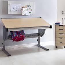 Kinderschreibtisch Finebuy Design Kinderschreibtisch Michi Holz 120 X 60 Cm Grau