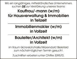 stellenmarkt architektur stellenangebote bauleiter bielefeld stellenanzeigen bauleiter