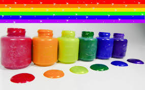 learn colors with crayola sparkle paint colours learn to spell