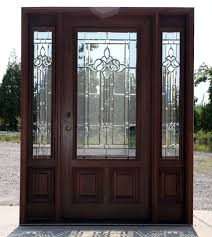 French Doors With Opening Sidelights by Mahogany Exterior Door With Sidelights N 200 Mystic 6 U00278 Exterior