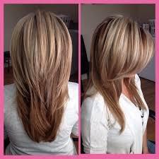 v cut layered hair long layered v cut hairstyles sweet haircuts