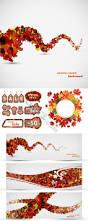 autumn maple leaf chinese restaurant design vector material