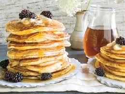 pancakes cuisine az blackberry lemon griddle cakes recipe southern living
