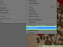 how to match colors in photoshop with pictures wikihow