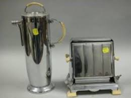 Art Deco Toaster Search All Lots Skinner Auctioneers
