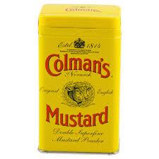 coleman s mustard colmans superfine mustard powder 4 oz meijer