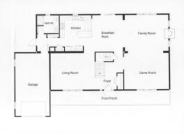 easy floor plans open floor plan allows easy traffic flow housey