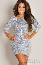 silver new years dresses bodycon silver sequin new years sleeve dress for 2015 new