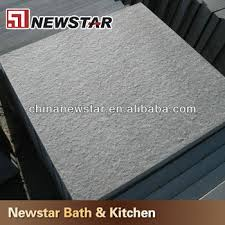 shanxi black flamed finish granite floor tile exterior flooring