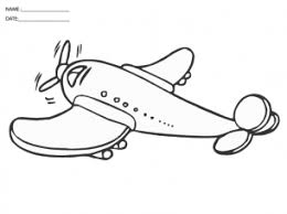 printable airplane pictures crafts airplanes