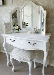 white bedroom dressing table dressing table mirror stool shabby french style vintage chic white