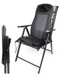 massage cushion chair folding aluminum seven position adjustable