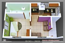 tiny homes 3d isometric views of small house plans indian home