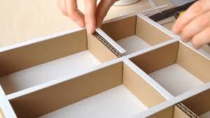 Desk Drawer Organizer by Diy How To Make A Cardboard Drawer Organizer Hd Corrugated