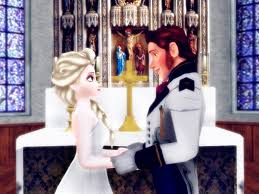 hans and elsa wedding by simmeh on deviantart