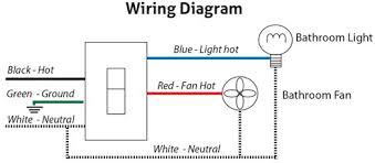 bathroom fan light switch my web value