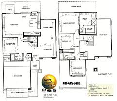 floor plan house uncategorized 2 story 4 bedroom house floor plan striking in