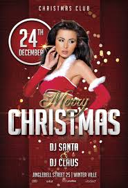 free christmas party flyer template awesomeflyer com
