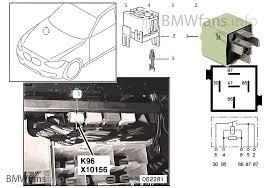 relay for fuel pump 1 k96 bmw 3 u0027 e46 318i n42 thailand