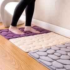 Rug For Bathroom Floor New Bath Floor Mat Set Toilet Rug Bathroom Kitchen Anti Non Slip