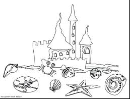 Summer Coloring Page Free Printable Pages For Kids 9 Sheet Book Sandcastle Coloring Page