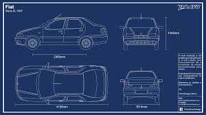 B Om El Kaufen Blueprint Fiat Siena El 1997 By Victorbravodesign On Deviantart