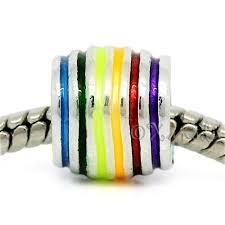 european bead bracelet charms images Rainbow pride lgbt european charm bead for european charm jpg