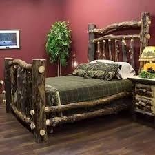7 best log bed design how to build images on pinterest