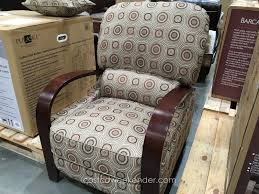 Fabric Recliner Armchair Synergy Home Furnishings Wood Arm Recliner Chair Costco Weekender