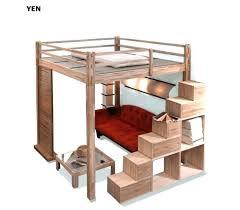 lit surélevé avec bureau lit combinac bureau conforama lit mezzanine avec bureau conforama