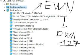D Link Dwa 127 Carte Réseau D Link None Of My Wlan Adapters Are Working While Ethernet Is Working