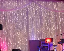 Ceiling Drapes With Fairy Lights Fairy Light Curtain More Weddings