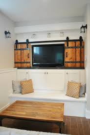 Media Room Built In Cabinets - the great cover up u2013 7 ways to disguise your tv tidbits u0026twine