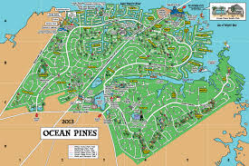 maryland map community map pines association md
