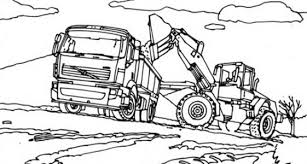 coloring pages trendy digger coloring page grave monster truck