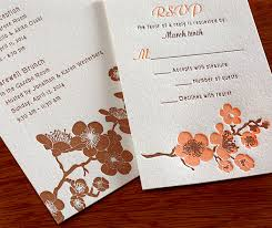 cherry blossom wedding invitations new cherry blossom wedding invitation hana letterpress wedding