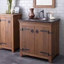 Wooden Bathroom Vanities by Reclaimed Wood Bathroom Vanity