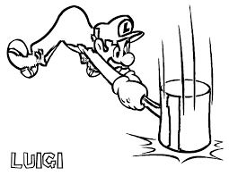 mario bros coloring pages free printable luigi coloring pages for kids