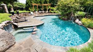 swimming pool in ground swimming pool concrete natural outdoor