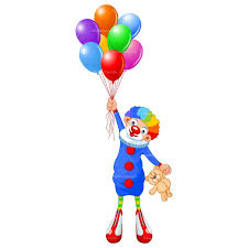 clown baloons clipart clown with balloon free vector design clipart the cliparts