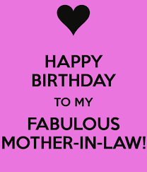 Happy Birthday Love Meme - happy birthday to my fabulous mother in law keep calm and carry