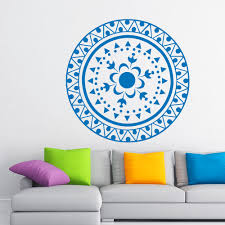 Om Wall Decal Mandala Vinyl by Compare Prices On Stickers Home Decorative Om Online Shopping Buy