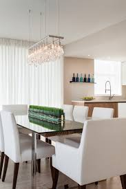 painting a dining room table dining room chandelier contemporary lighting designwhite seat