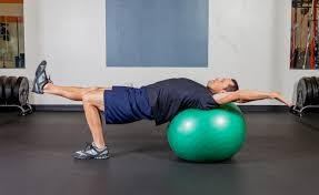 Table Top Exercise by Exercise Ball Table Top With Arm And Leg Extension Sean Cochran
