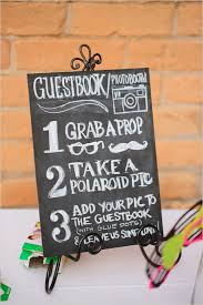 polaroid guest book album alternative guest book ideas swank events