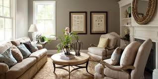 adorable relaxing paint colors for living room with large window