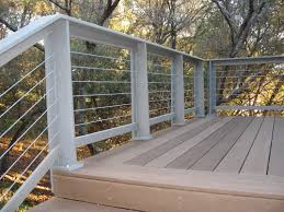 Stair Handrail Ideas Horizontal Deck Railing Ideas Metal U2014 Railing Stairs And Kitchen
