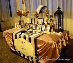 Wedding Entrance Backdrop Gatsby Wedding Theme At Hatten Hotel Melaka Purple Romance Event